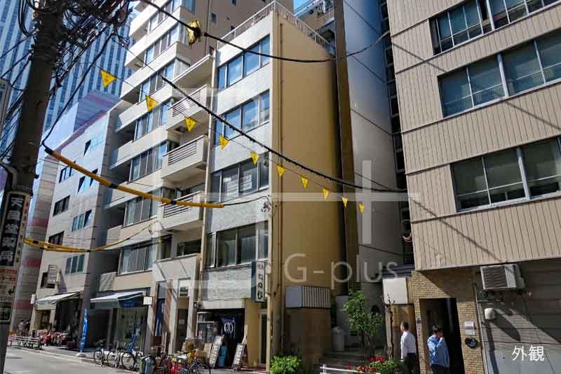 銀座木挽町通りに面した1階のイメージ