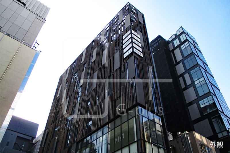 銀座ガス灯通り×柳通りのビル 3階のイメージ