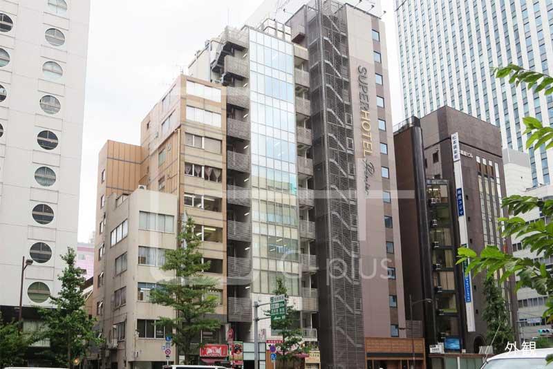 銀座昭和通りの1階路面店舗のイメージ