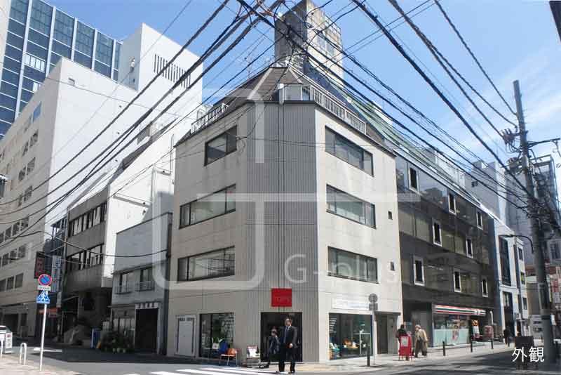 新橋仲通り沿い角地事務所 4階のイメージ