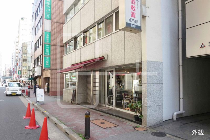 ホテルモントレ向かいの1階店舗のイメージ