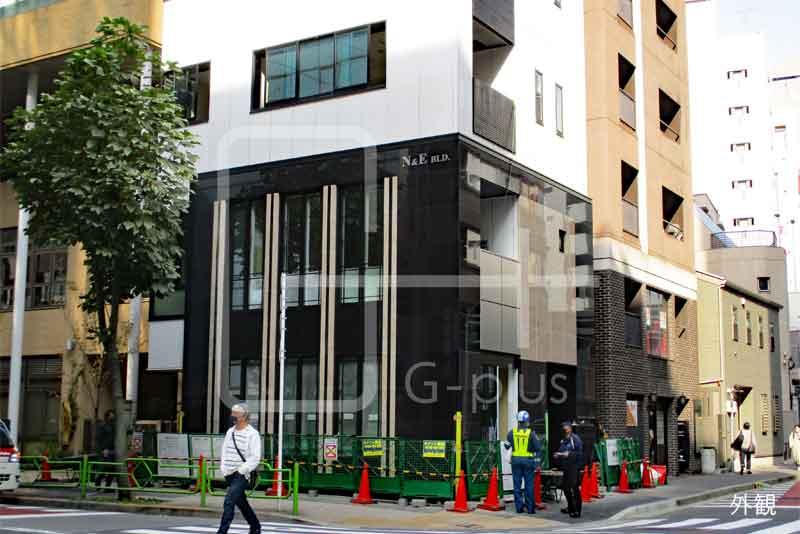 2021年1月竣工の角地ビル 1階+2階のイメージ