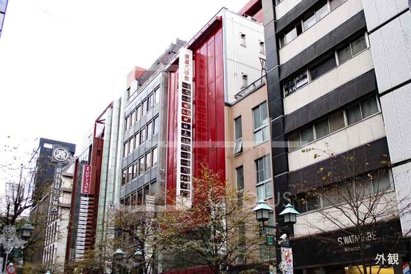 銀座8丁目並木通りのリース店舗 5階BC室のイメージ