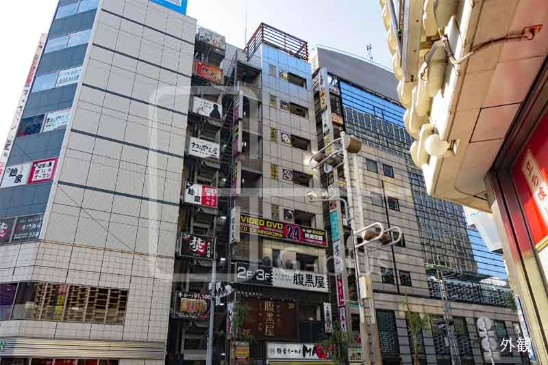 新橋駅前柳通りの飲食ビル 3階のイメージ
