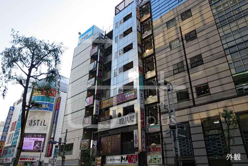 新橋駅前柳通りの飲食ビル 8階のイメージ