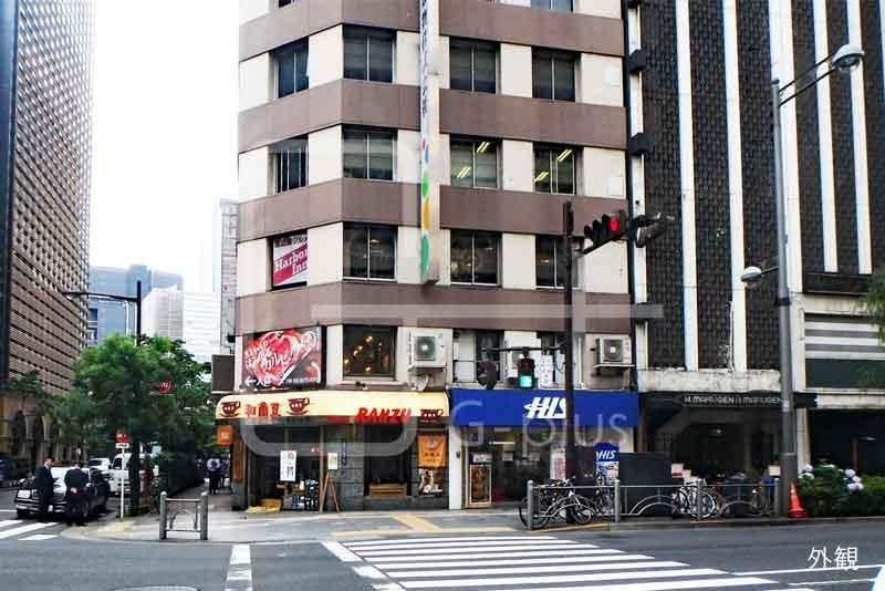 銀座7丁目外堀通り角地の貸店舗 1階のイメージ