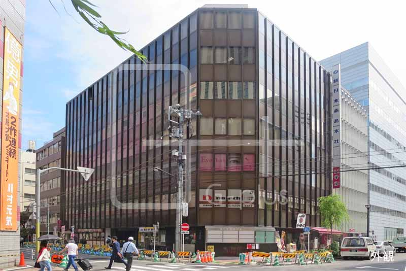 松屋通り×木挽町通りの角地ビル 3階のイメージ