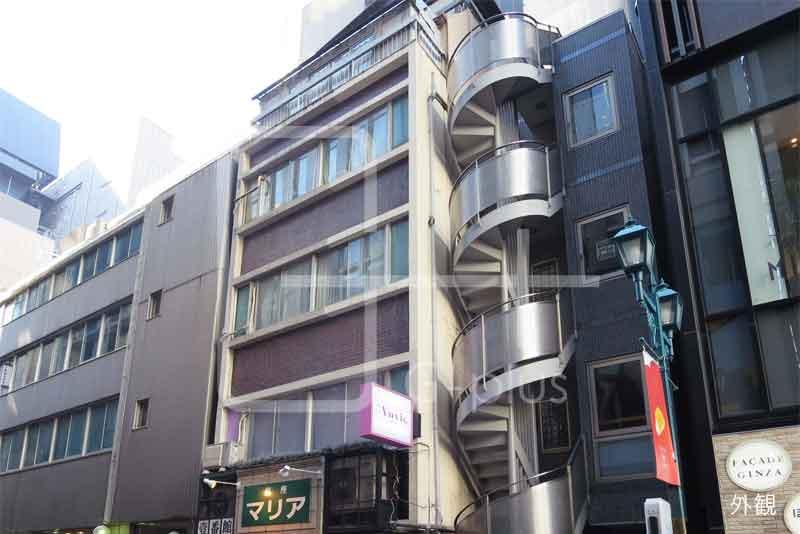 ガス灯通りの1階路面店舗のイメージ