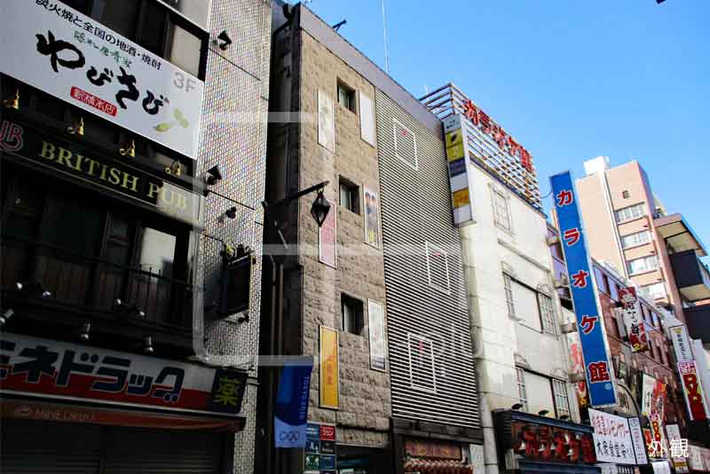 新橋2丁目スナック居抜き店舗 地下1階のイメージ