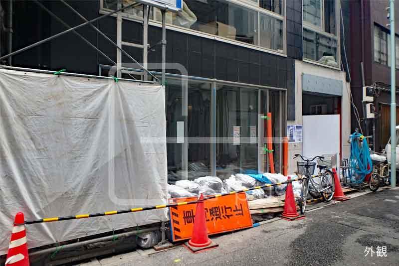 銀座6丁目のコンパクトな貸店舗 1階のイメージ