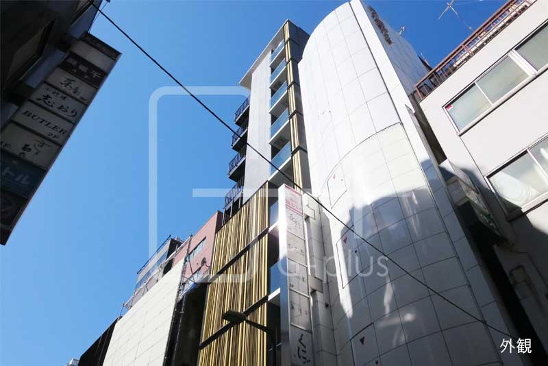 銀座8丁目見番通りの新築ビル 地下1階のイメージ