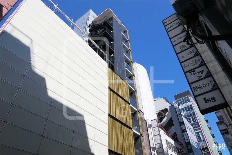 銀座8丁目見番通りの新築ビル 2階のイメージ