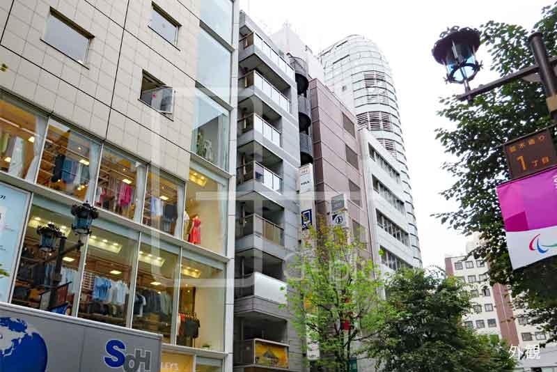 銀座1丁目並木通りの店舗事務所 6階のイメージ