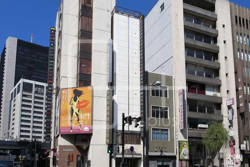 銀座8丁目外堀通りスケルトン店舗 1階B室のイメージ