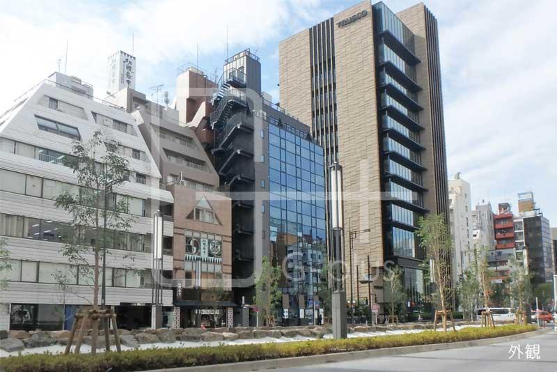 新虎通り×赤レンガ通りの角地ビル 3階のイメージ