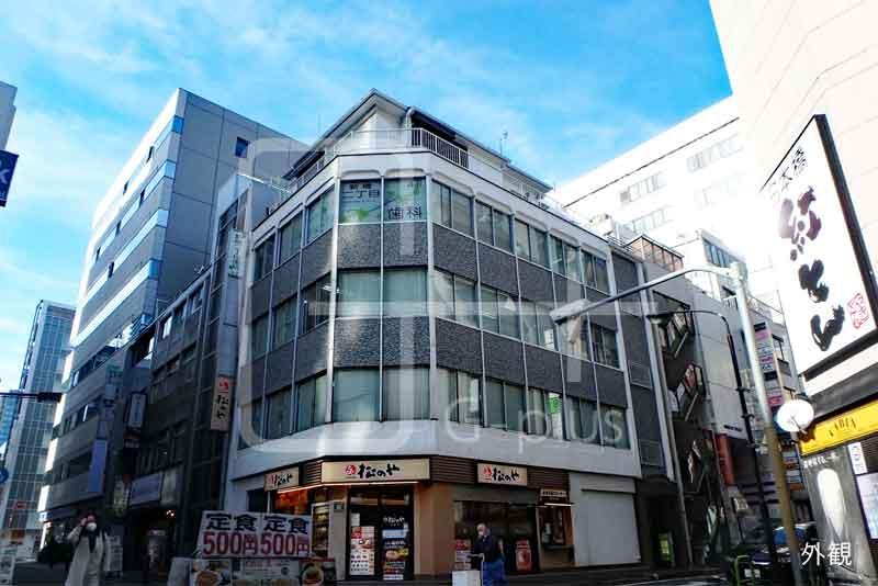 新橋仲通り角地の貸事務所 3階のイメージ