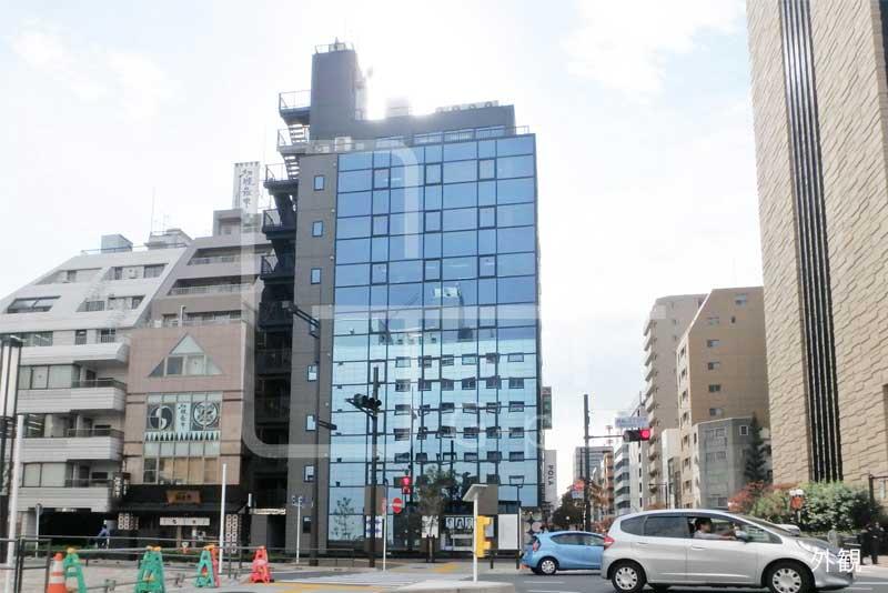 新虎通り×赤レンガ通りの角地ビル 5階のイメージ
