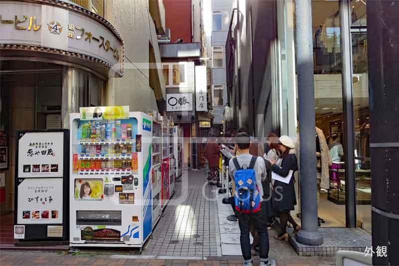 銀座4丁目のラーメン店居抜き 1階のイメージ