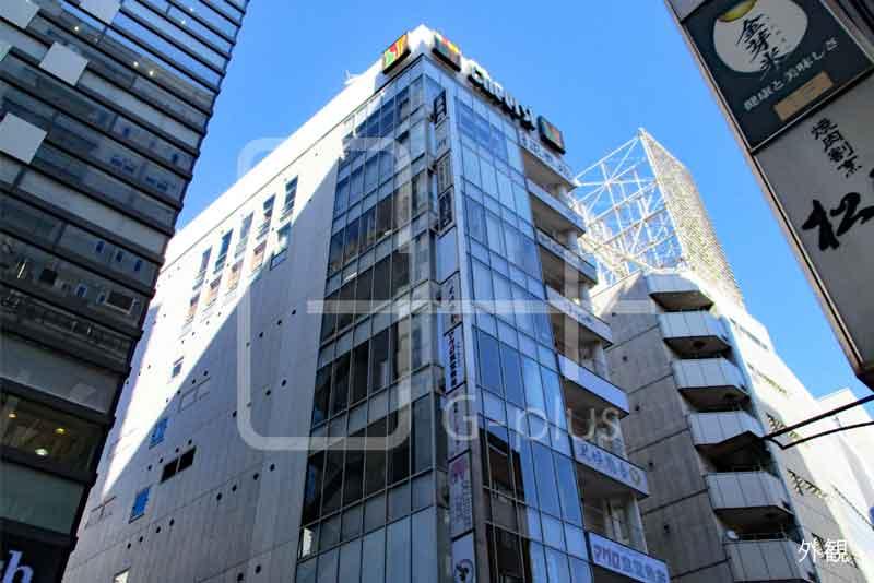 銀座三原通りの飲食ビル 8階のイメージ