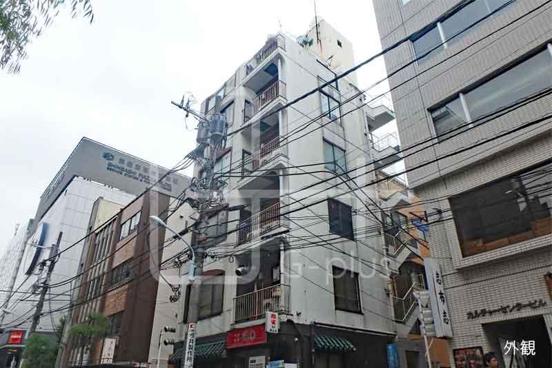 新橋5丁目柳通りの角地ビル 4階のイメージ