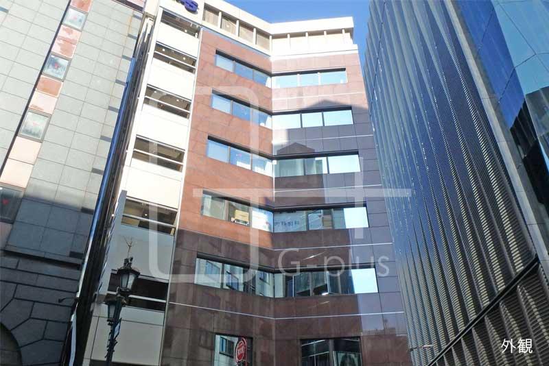 みゆき通り×数寄屋通りの貸店舗 1階+2階のイメージ