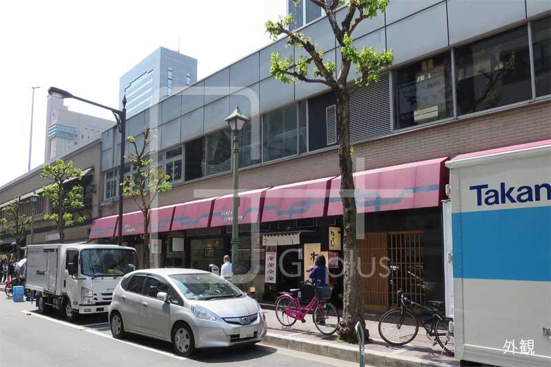 銀座コリドー高速道路下の貸店舗 1階のイメージ