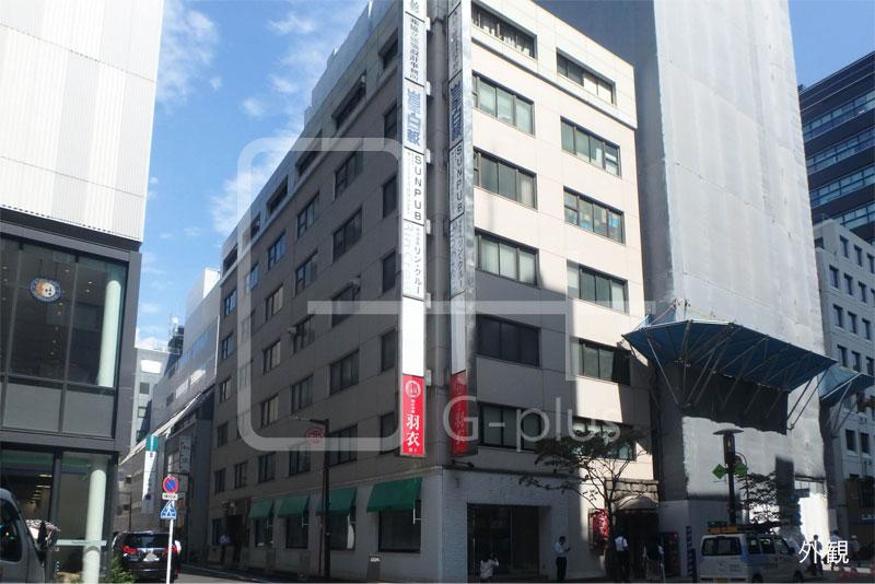 銀座7丁目花椿通りの角地オフィス 4階のイメージ