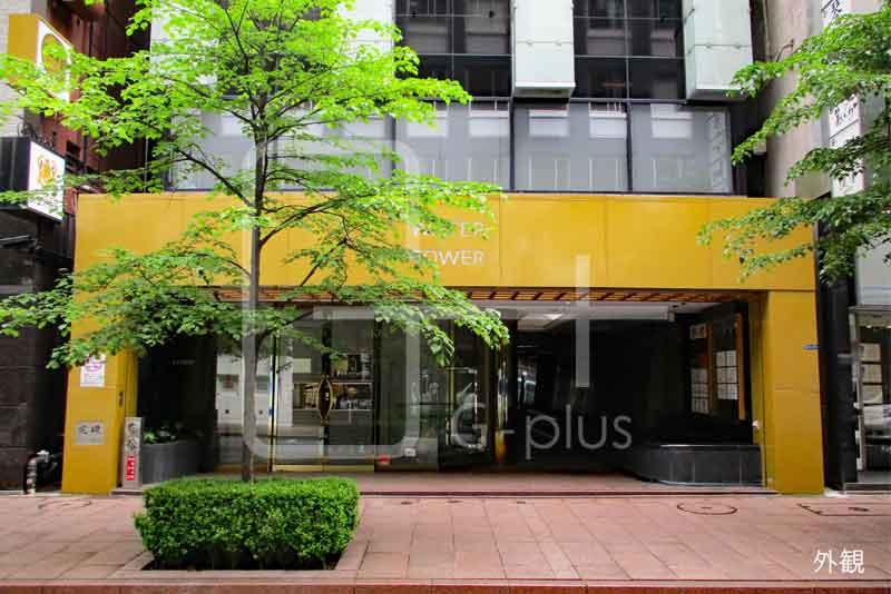 銀座8丁目並木通りの1階路面店のイメージ