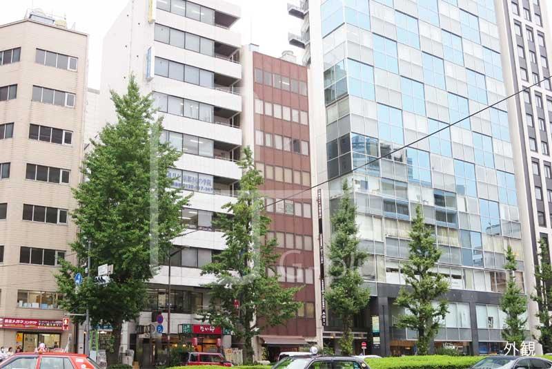 銀座2丁目昭和通りの貸オフィス 8階のイメージ