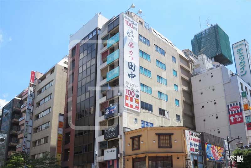 新橋赤レンガ通り沿いの貸店舗 4階のイメージ