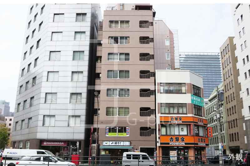 西新橋の日比谷通りに面したビル 2階のイメージ