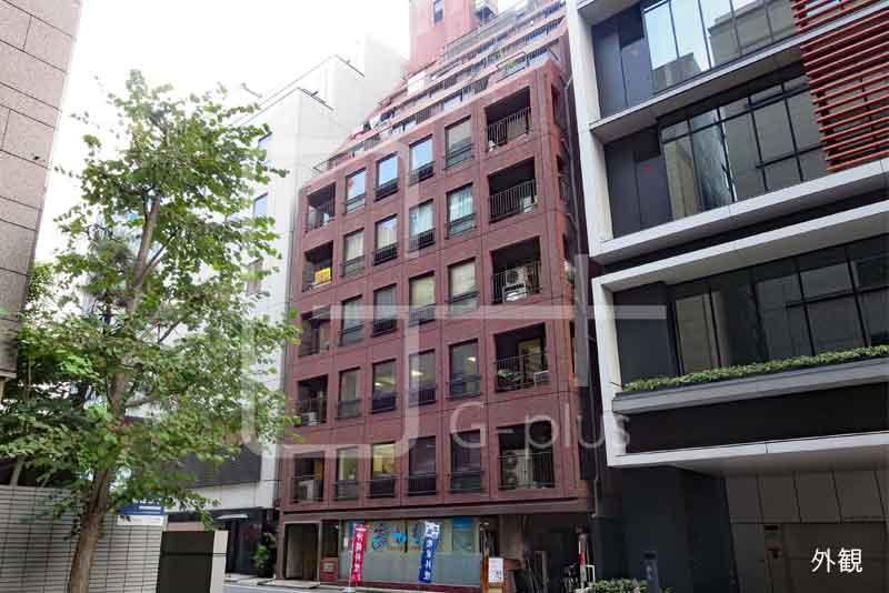 銀座7丁目の1階店舗事務所のイメージ
