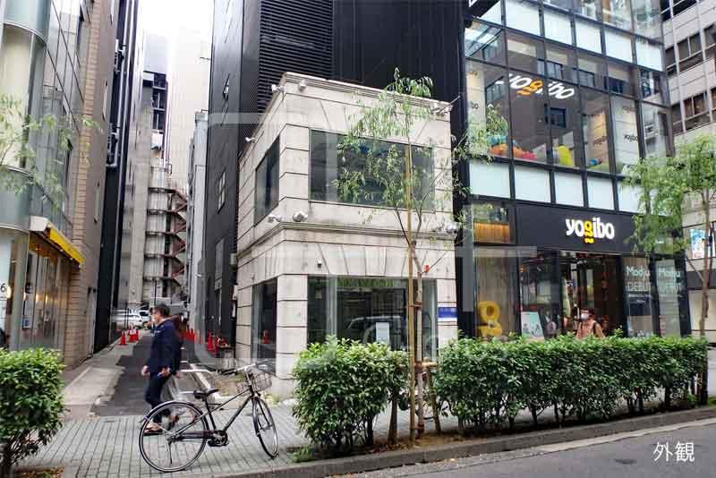 銀座2丁目柳通りの貸店舗 1階+2階のイメージ