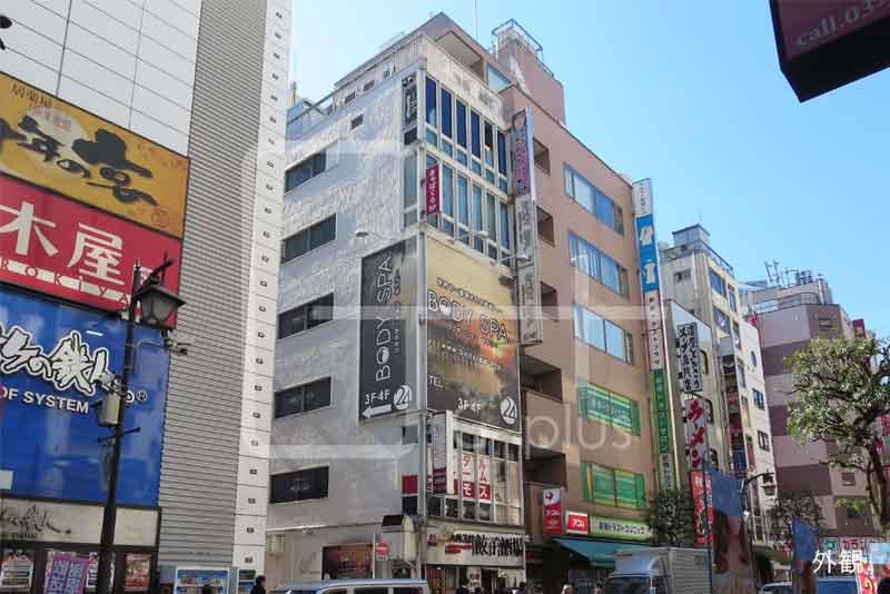 烏森通り沿いのスケルトン店舗 3階のイメージ