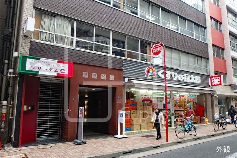 銀座6丁目40坪の1階路面店のイメージ