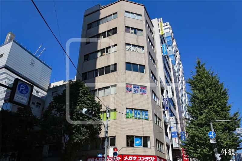昭和通り×マロニエ通り角地ビル 6階のイメージ