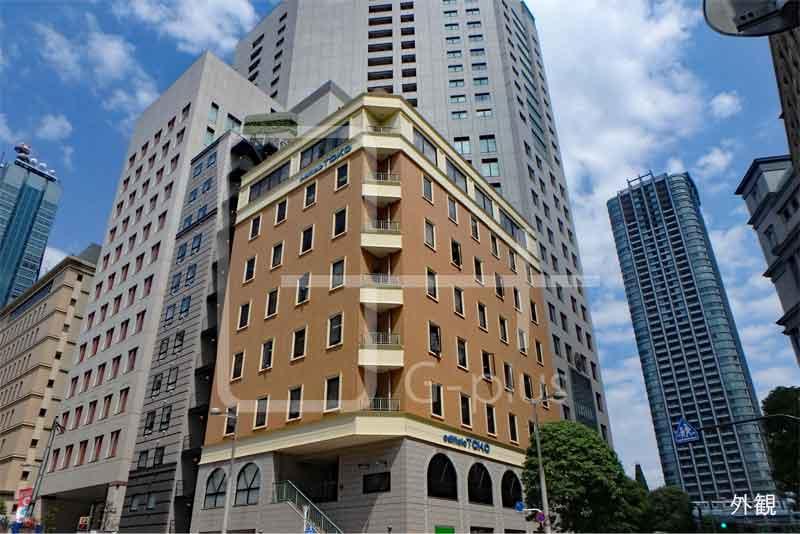 汐留イタリア街の1階貸店舗のイメージ