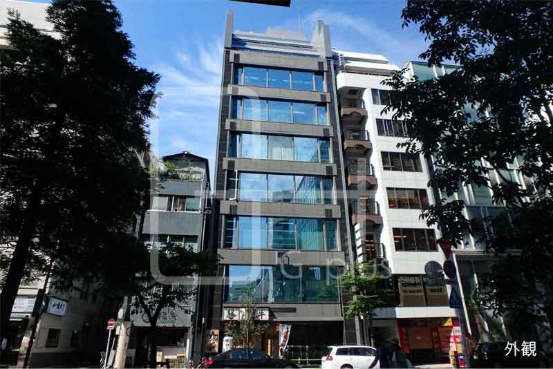 西新橋1丁目のガラス張りオフィス 4階のイメージ