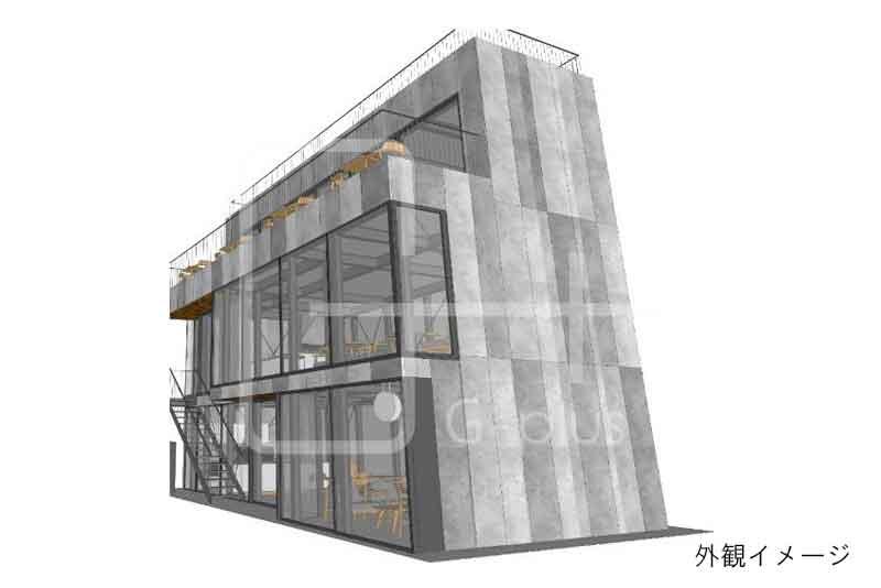 烏森神社至近の新築ビル 3階のイメージ