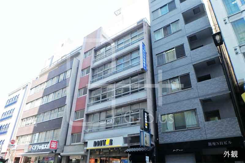 銀座6丁目41.65坪店舗事務所 4階のイメージ