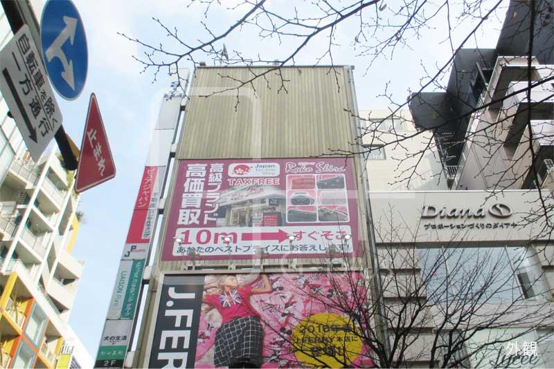 並木通り×柳通り角地の貸事務所 8階のイメージ
