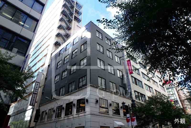 並木通りに面したオフィスビル 4階のイメージ