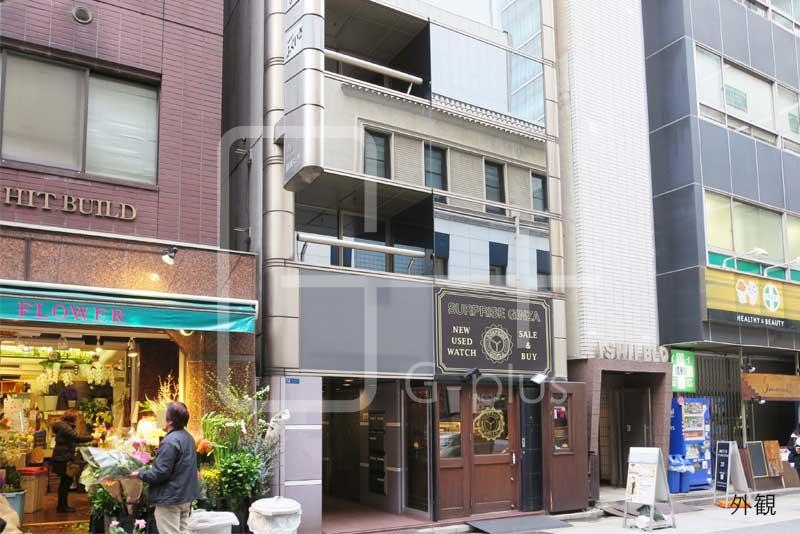 西五番街の10.3坪リース店舗 2階のイメージ