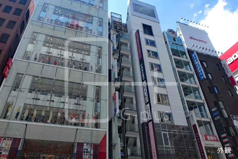 銀座6丁目中央通り貸店舗 6階のイメージ