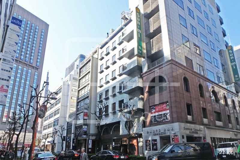 銀座6丁目交詢社通りの貸店舗 1階のイメージ