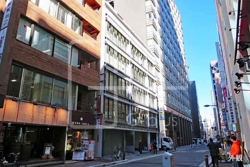 銀座4丁目の1階路面店舗のイメージ