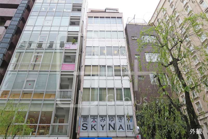 銀座2丁目柳通りの貸事務所 7階+8階のイメージ