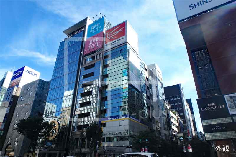 並木通り×晴海通り貸店舗事務所 7階のイメージ