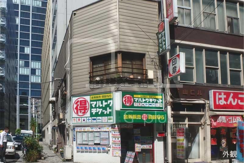 西新橋1丁目の1階路面店舗のイメージ