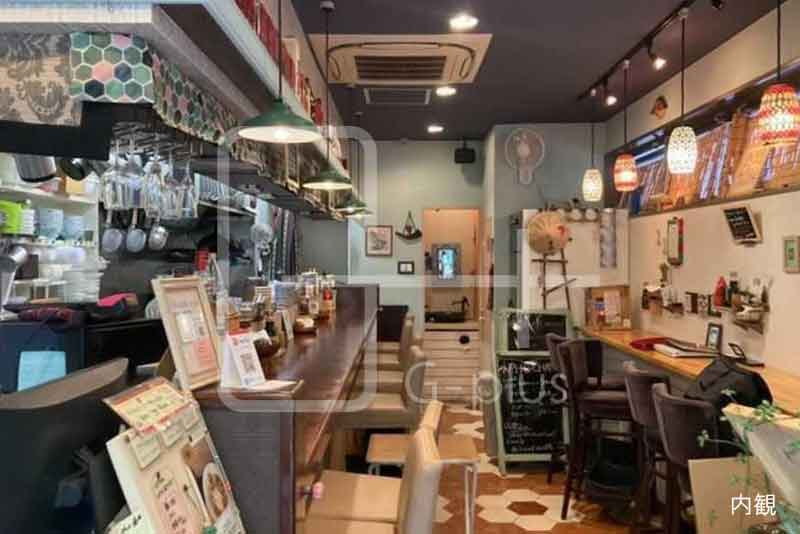 西新橋ベトナム料理店居抜き店舗 1階のイメージ